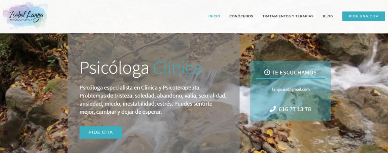 Web PsicologaClinicaMadrid